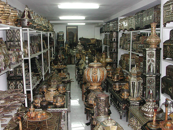 Store with Moroccan Crafts