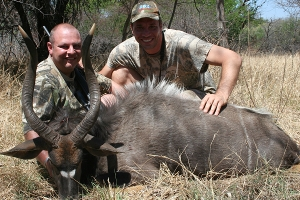 Morne Fouche with Nyala